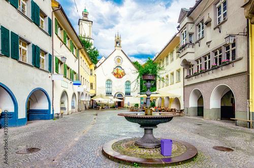 Photo Marktgasse von Feldkirch in Vorarlberg, Österreich
