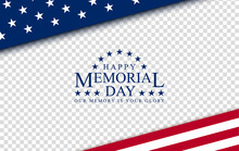 Memorial Day With, Vector Imag...