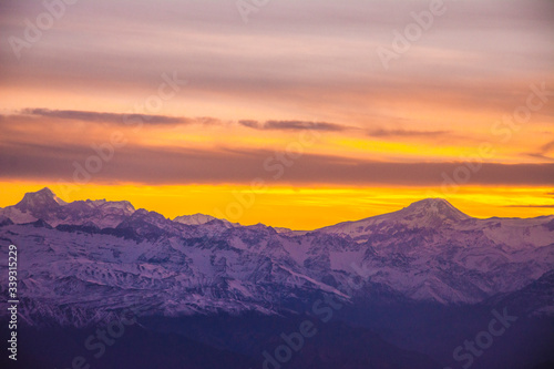 Photo Sunrise at the Andes