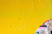 Closeup Of Colorful Urban Wall...