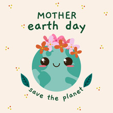 Happy Mother Earth Day Card