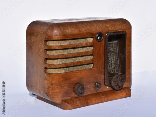 Valokuva Minerva 375, Minerva, 375, Tischgerät, 1936, Radio, Radiogerät, Zwischenkriegsze