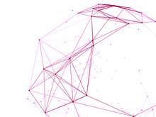 Abstract Technology Neural Net...