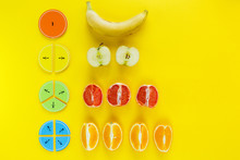 Colorful Math Fractions And Ap...