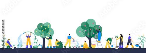 Garden work concept Slika na platnu