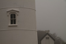 Fog Shrouded Nauset Lighthouse...