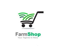 Farming Land Shopping Cart Log...