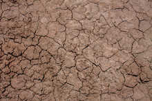 Dry And Cracked Mud In Bisti B...