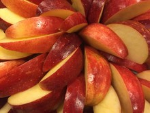 Detail Shot Of Apple Slices