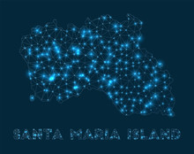 Santa Maria Island Network Map...