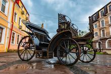 Old Iron Brougham In Kamenetz-...