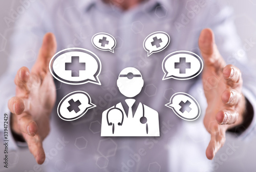 Photo Concept of medical assistance