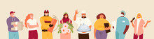 People Group Of Different Occu...
