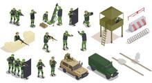 Military Elements Icon Set