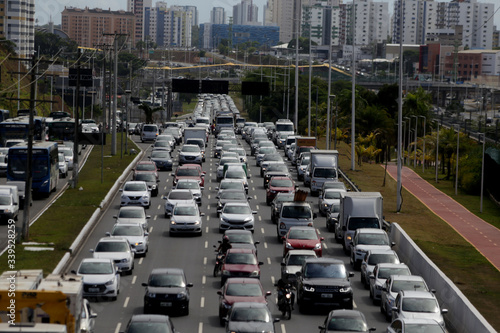 Fototapety, obrazy: vehicle congested in salvador
