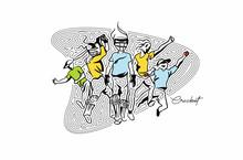 Cricket Fever Freehand Sketch ...
