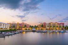 Naples, Florida, USA At Dusk