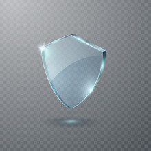 Shield Icon Isolated On Transp...