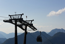 Skilift Tower With Cable Car I...