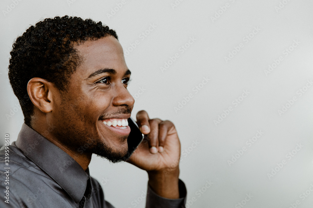 Fototapeta Business person calling on the phone