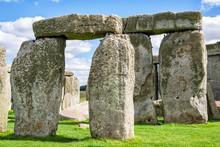 Stonehenge Closeup Of Stones