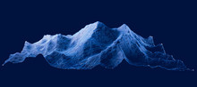 Mount Everest, Relief Height, ...