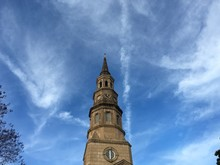 Low Angle View Of St Philip Church Against Sky