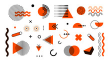 Abstract Geometric Memphis Sha...