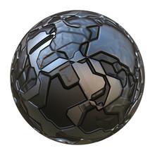 3d Futuristic Sphere Ball