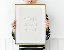 Minimal Gold Frame