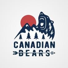 Canadian Bear Adventure Vintag...