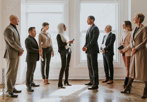 Obraz Diverse business team - fototapety do salonu