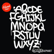 Graffiti Art Letter Type Calligraphy Word Street Styleink Spray Paint Urban Mural Abc Crime Streetart