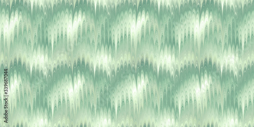 Obraz na plátně combed marble paint pistachio green seamless tile, ideal for end paper in book a
