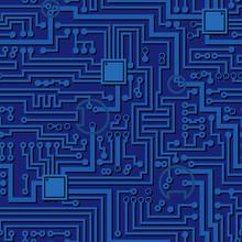 Circuit Board Pattern. Vector ...