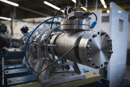 Photo Particle Accelerator Beamline for Research in Scientific Laboratory