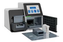 DNA Sequencer, 3D Rendering