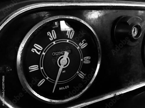 Fotografia, Obraz Meter In Fire Engine