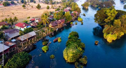 4000 Islands Laos Canvas-taulu