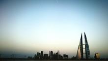 Bahrain World Trade Center Against Clear Sky