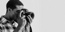 Black Photographer At A Shoot