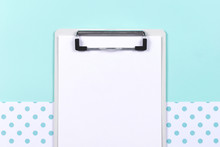Part Of Clipboard With Blank S...