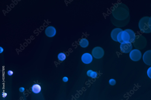 Fototapety, obrazy: Glowing colored blurred dots. Colored fantasies. Bokeh.