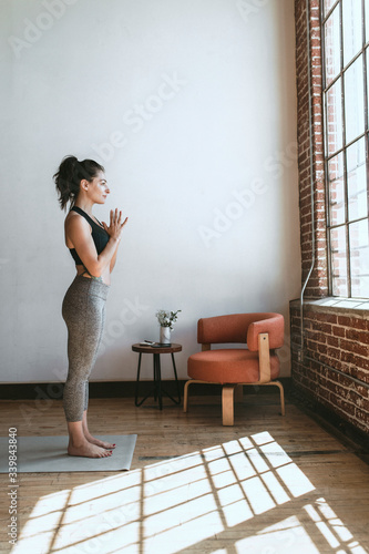 Yoga and meditation Wall mural
