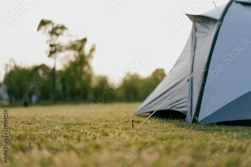 Fotografie, Obraz tent in park