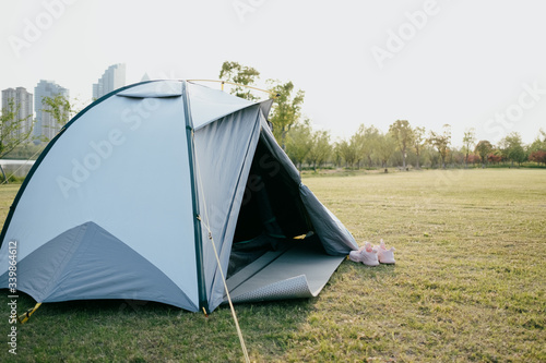 tent in park Canvas
