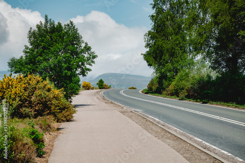 Valokuva Schottland Highlands Straße Invergarry
