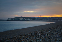 Sunset, View On Newhaven, West...