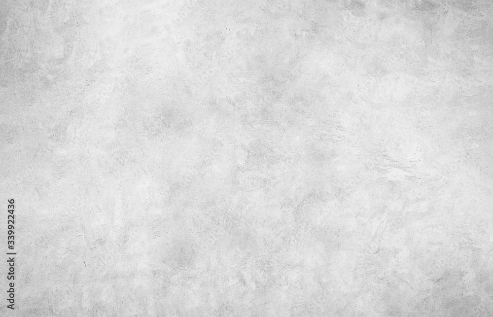 Fototapeta Wallpaper gray wall. Vintage concrete texture