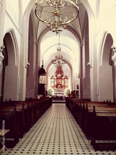 Fotografiet Interior Of Church
